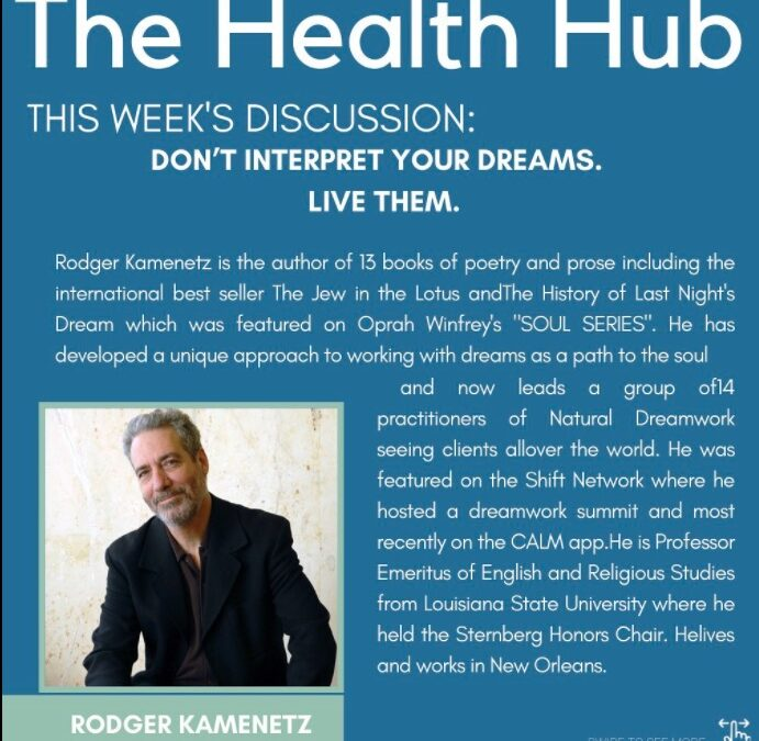 Interview on The Health Hub with Cathy Biase